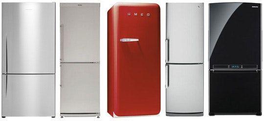 Eight Narrow Counter Depth Refrigerators Kitchens