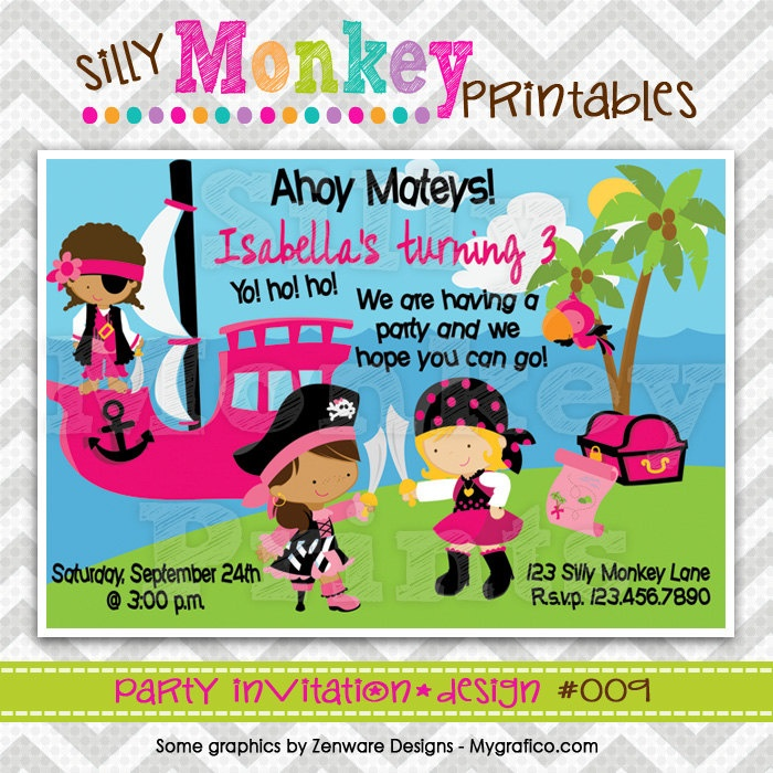 72 best Maya\'s 2nd birthday party ideas images on Pinterest | Pirate ...