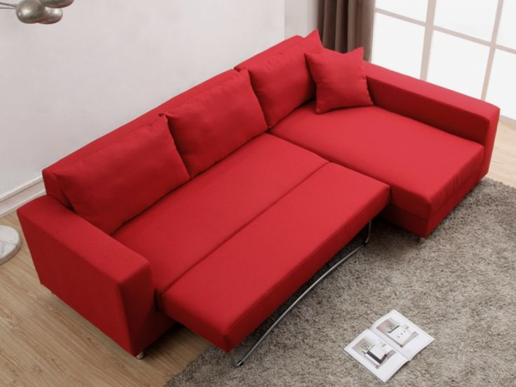 Schlafsofa rot  Best 25+ Schlafsofa mit bettkasten ideas on Pinterest | Bettsofa ...