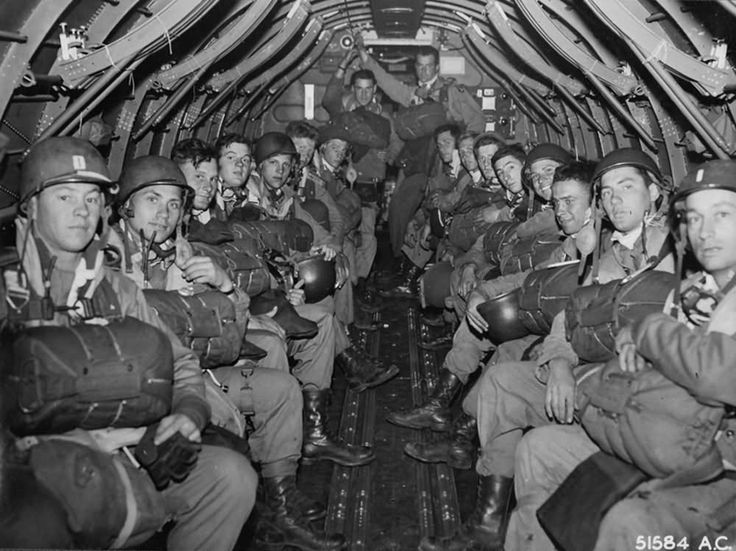 US Paratroopers, D-Day
