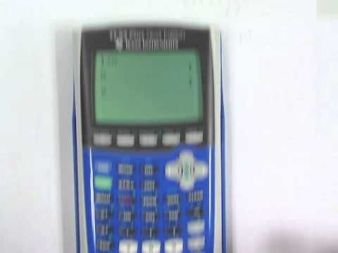 GREAT!! Video tutorial for using a calculator to apply the remainder theorem, factor theorem