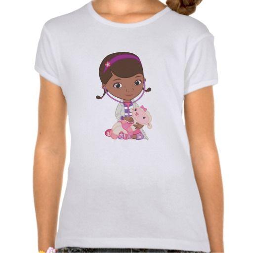Doc McStuffins Holding Lambie. Regalos, Gifts. #camiseta #tshirt