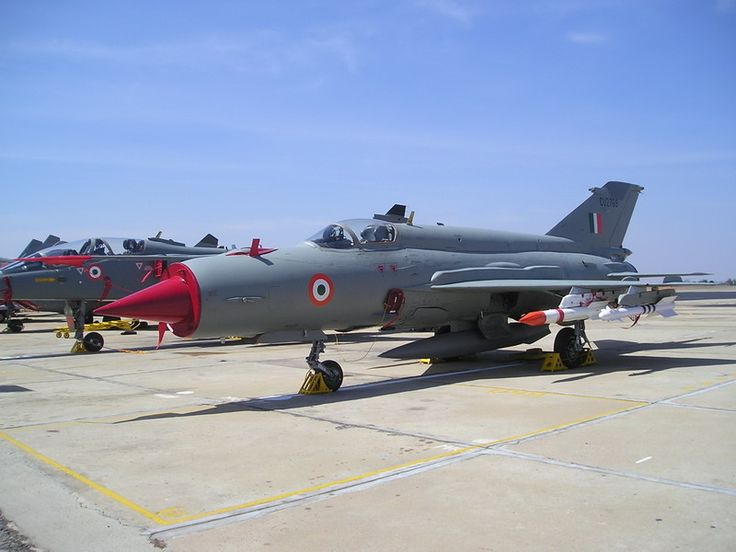 """Since 1963,over 450 MiG-21s served in Indian Air Force.Most upgraded since induction In 1996,India signed US$300million deal with Russia to upgrade 125 MiG-21 Bis,& multi-million dollar deal awarded to Israel's Elta for upgrading avionics.Despite series of crashes during 1990s,IAF decided to upgrade about 125 MiG-21 Bis to MiG-21 """"Bison"""" standard.Because of frequent crashes,MiG-21s been dubbed flying coffins by media.As of 2007,about 250 MiG-21s remain in service & to be replaced by HAL…"""