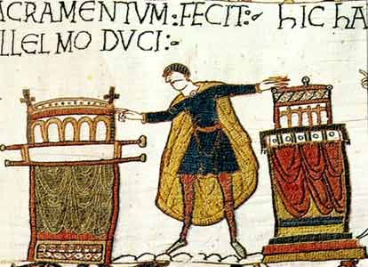 From the Bayeux tapestry
