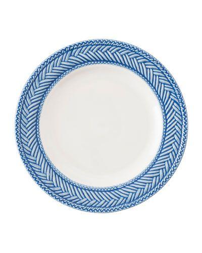 HB0CX Juliska Le Panier White/Delft Blue Side Plate