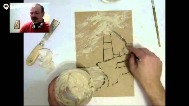 Объемная живопись - мастер класс А Жиляева - YouTube