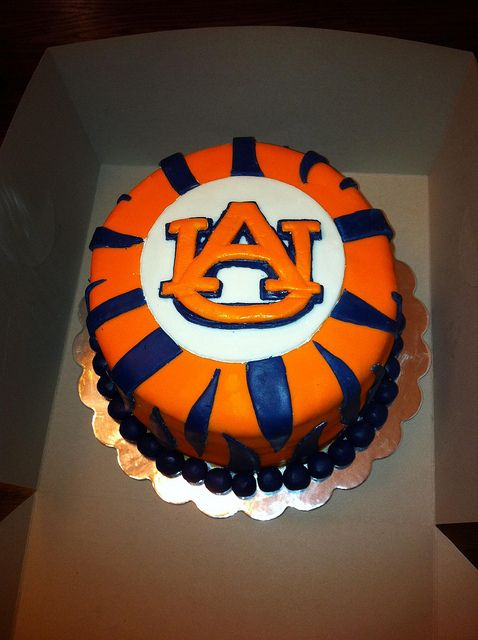 Auburn grooms cake by tigermatt, via Flickr