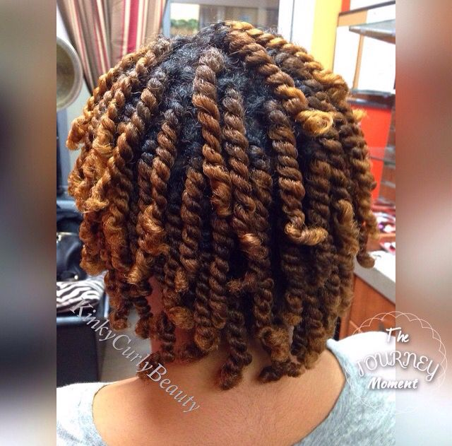 Thick twists are so pretty.