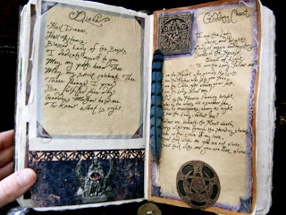 A Natural Witch- Grimoire of Life and Practice: Altered Art: Book of Shadows- pictures