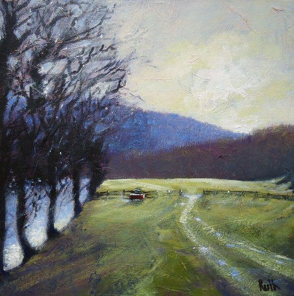 Winter By The Derwent Whatstandwell