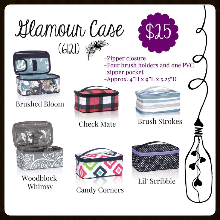 Glamour Case, Thirty-One, Fall 2017