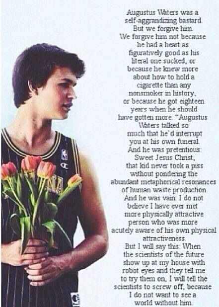 Pictures of The Fault In Our Stars Quotes Isaacs Eulogy