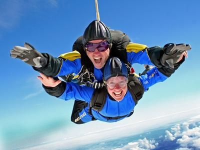 Sky Diving - one of the best experiences of my life - will definately do another