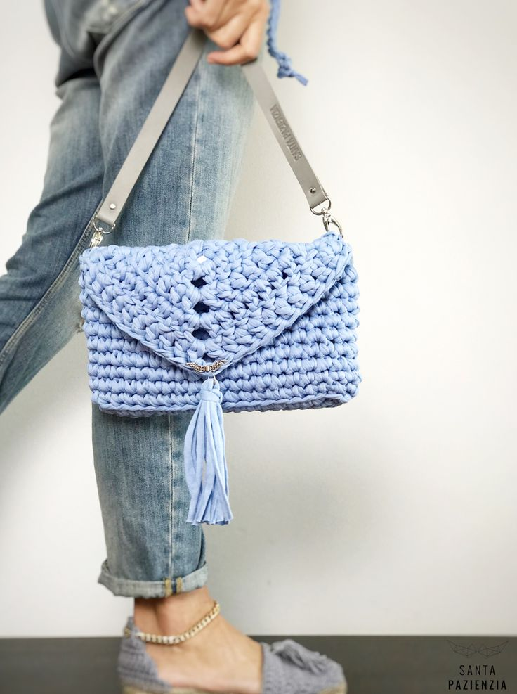 Bolso Ocean by Santa Pazienzia  Patrón Crochet dentro Curso online Bolso Lovely