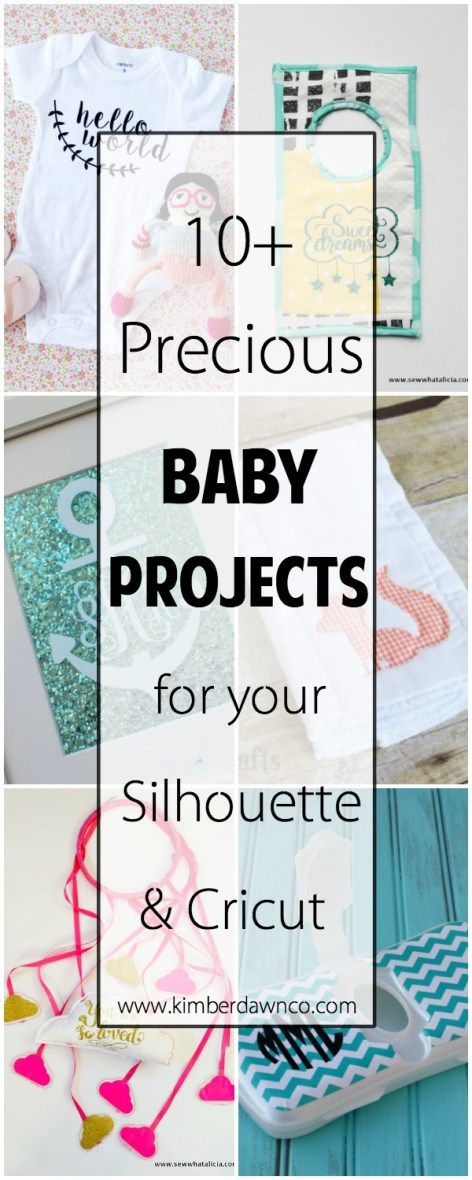 Baby Gift Ideas Using Cricut : Best ideas about silhouette cameo gifts on