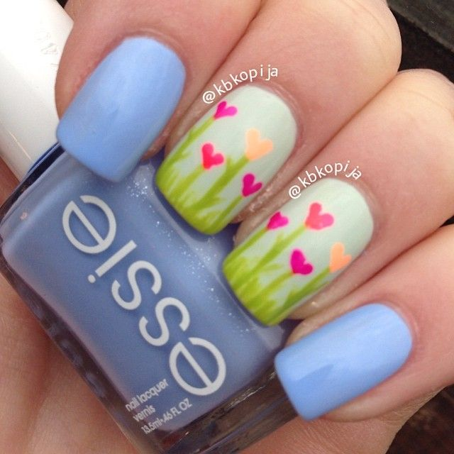 spring nail art 2017 to trying trends - style you 7 - Best 25+ Spring Nail Art Ideas On Pinterest Spring Nails, Flower