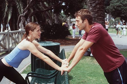 Sydney and Vaughn (Jennifer Garner and Michael Vartan), Alias