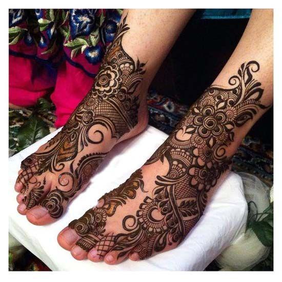 Wedding henna design 2017