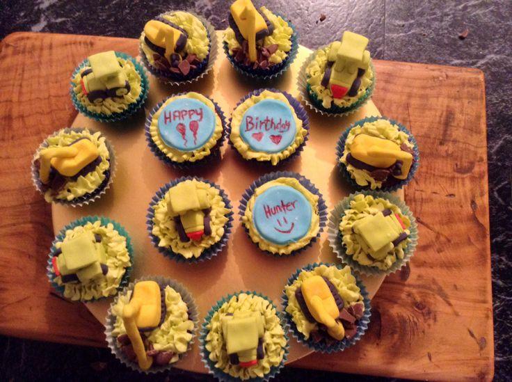 Little boys cupcakes
