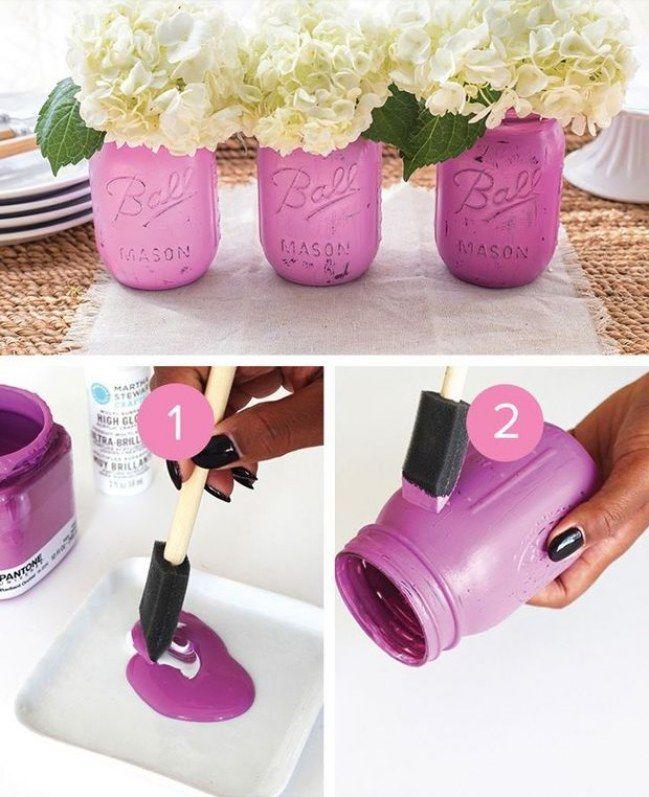 20 ideas creativas para reciclar tarros de cristal y - Ideas creativas para decorar ...