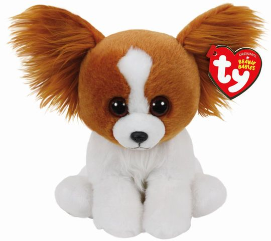 Ty Original Beanie Babies Barks Brown Dog, Regular