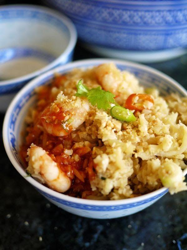 egg fried rice cauliflower
