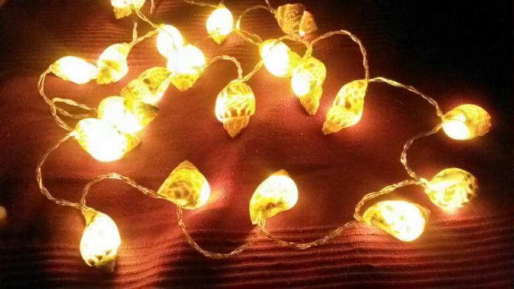 Shells lights Luci natalizie con le conchiglie