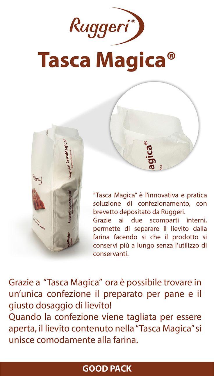 Ruggeri Tasca Magica - brevetto depositato -  www.ruggerishop.it