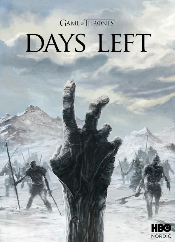 HBO Nordic / Game of Thrones: The Countdown, 4, Game Of Thrones, SELIGEMIG Copenhagen, HBO, Печатная реклама, Наружная реклама, Креативная реклама