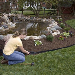dimex 1604br 16c e z connect recycled premium landscape edging landscape edgingpond ideasgarden