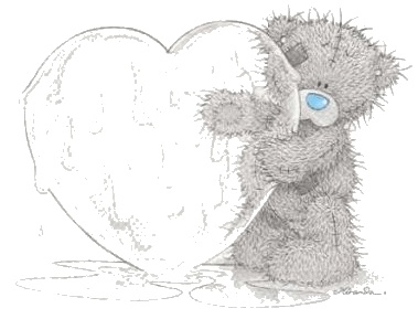 big heart made of ice