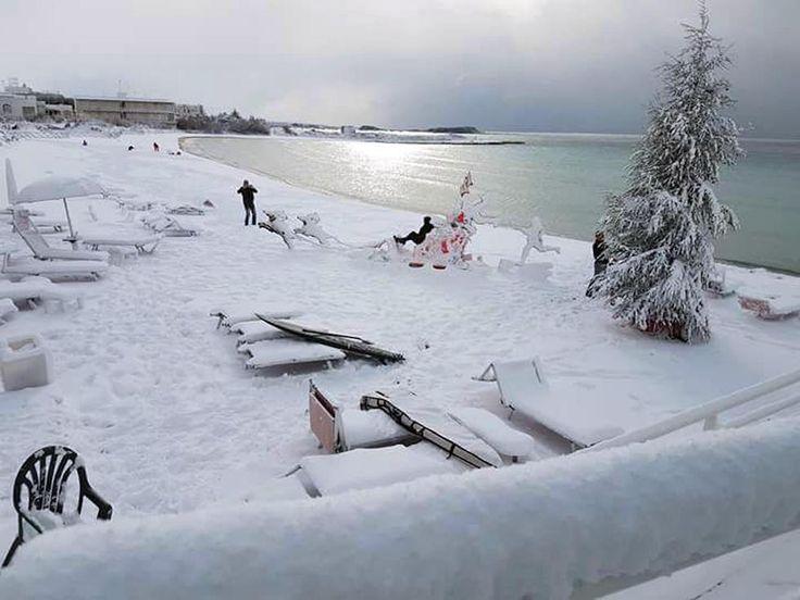 Le foto della neve nel Sud Italia - Il Post