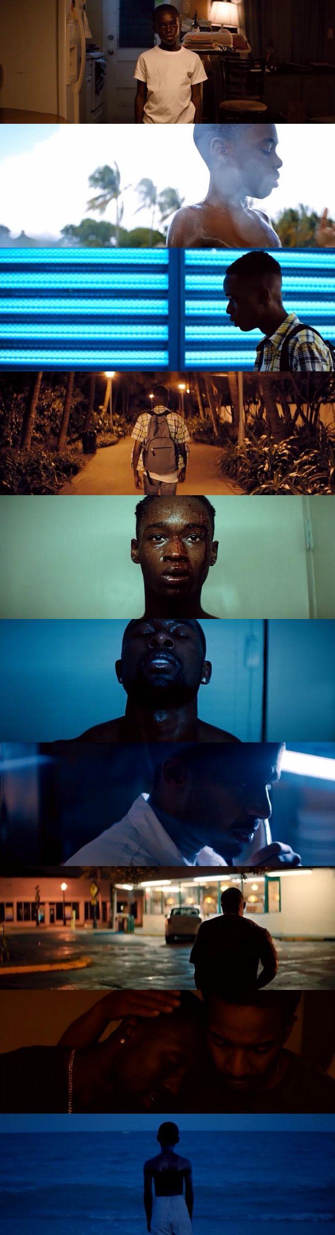Moonlight (2016) Director: Barry Jenkins. Photography: James Laxton.
