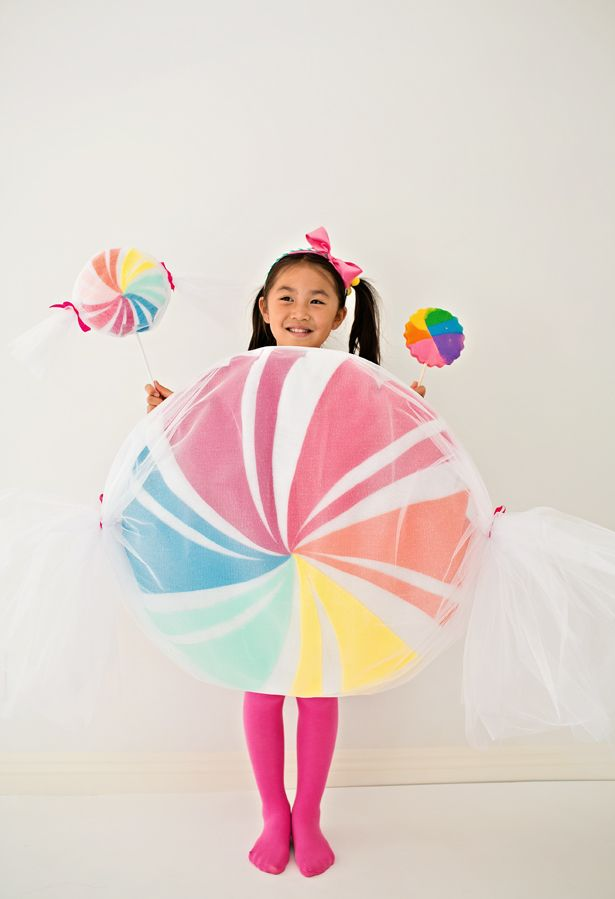 Diy No Sew Felt Candy Costume For Kids Christmas Candy