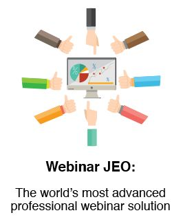 Webinar JEO Special Launch Offer