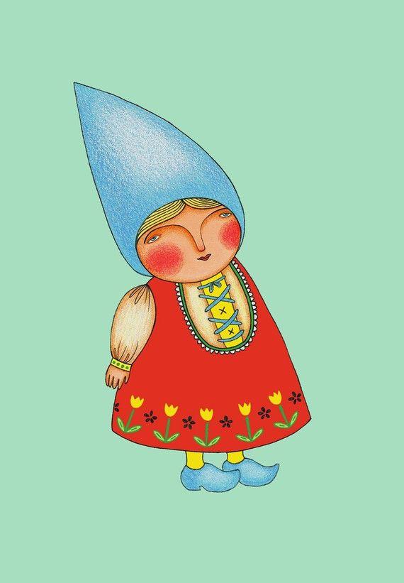 Little Gnome Woman Moms Gnomes Amp Tomtes Pinterest