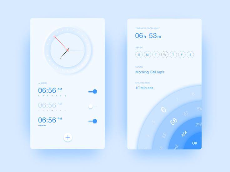 Clock by Ivy Yu #Design Popular #Dribbble #shots