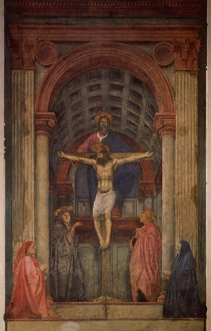 holy trinity by masaccio essay How does the holy trinity by masaccio express the humanist ideals of the15th century renaissance  the essay i'm writing needs to have a paragraph or so about the.