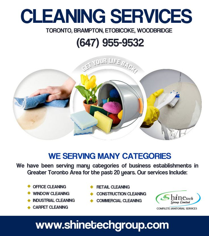 Shinetechgroup.com give an extensive variety of Cleaning Services benefits that achieve cleanliness with low ecological effect. It serving many categories: * Office Cleaning Services * Industrial Cleaning Services * Window Cleaning Services * Carpet Cleaning Services * Construction Cleaning Services  To Contact us Just Dial:- (647) 955-9532 Website:- http://www.shinetechgroup.com/ 7003 Steeles Ave West Unit #5 Etobicoke ON M9W 0A2