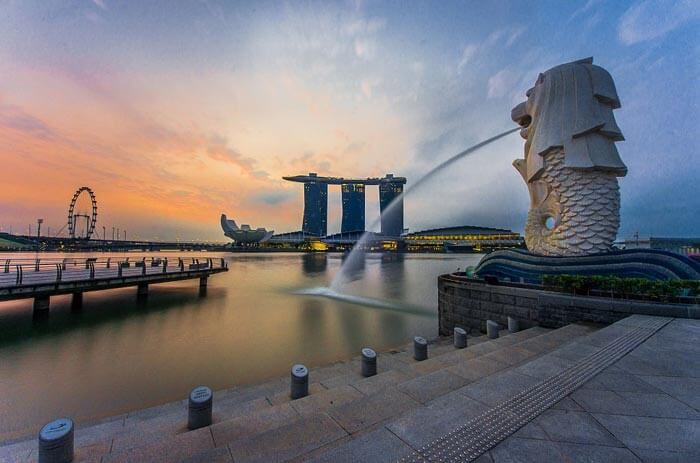 Hunt all 8 of Merlions - An exhilarating free stuff to do in Singapore