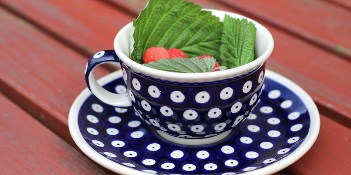 Kopje thee met kruiden