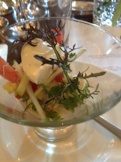 Crab Salad, The Arch Bistro Dublin