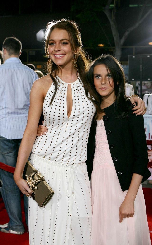 Lindsay Lohan and Ali Lohan ~ 2006
