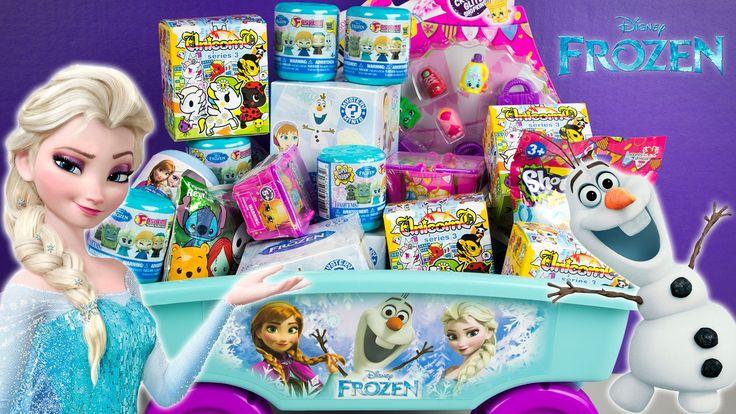 Frozen Surprise Wagon Fashems Unicorno Shopkins Funko Mystery Minis Disn...