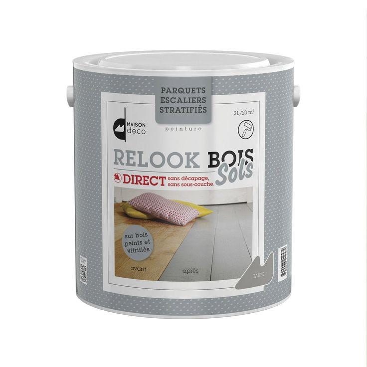 Lasure intérieure parquet Relook bois MAISON DECO, 2 l, ivoire