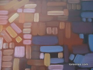 component oil on board by Loren Ries
