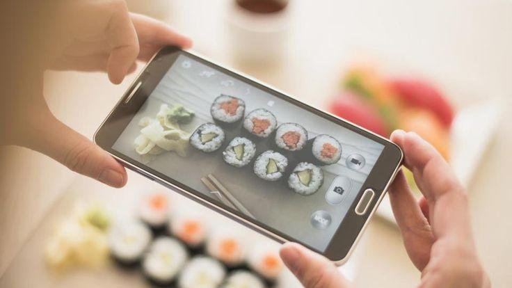 Fotos vom Essen bei Instagram und Facebook sind beliebt