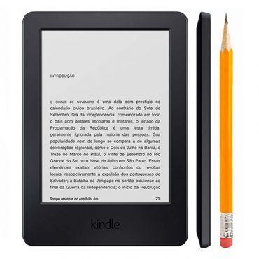 O Kindle Paperwhite foi feito para que você tenha a melhor experiência de leitura. Diferentemente de tablets, com ele você não terá o incomodo reflexo na tela, nem mesmo sob a luz de sol forte, e a iluminação embutida de última geração permite que você leia no escuro sem cansar seus olhos.