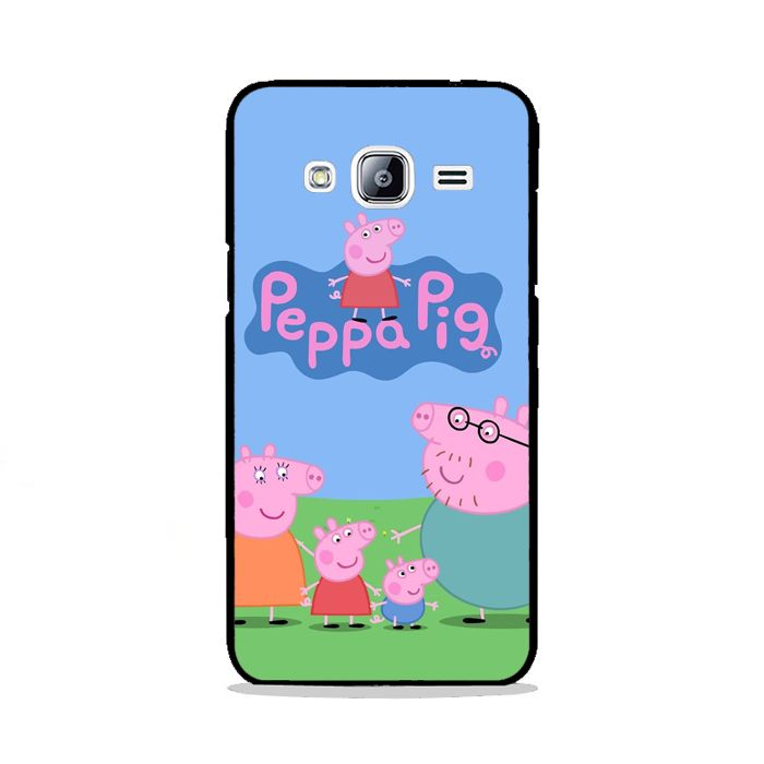 Peppa Pig TV Show Samsung Galaxy J3 Prime Case | Republicase