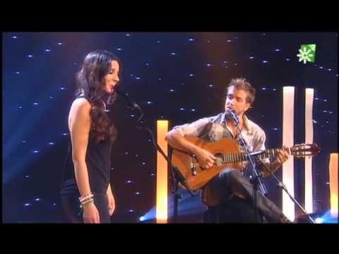 Pablo Alborán con Diana Navarro en ''El loco soy yo''